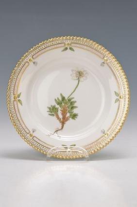 plate, Flora Danica
