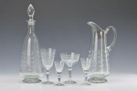 Set of 40 glasses