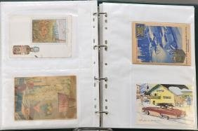 approx. 180 picture postcards
