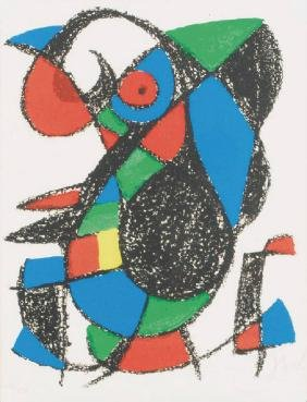 Joan Miró, 1893-1983, XIII from lithograph II,1975,