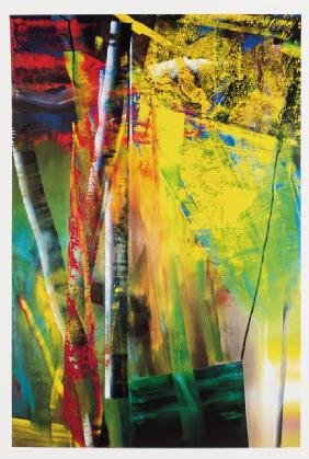 Gerhard Richter, born 1932 Dresden, Victoria I, color