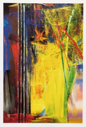 Gerhard Richter, born 1932 Dresden, Victoria II, color