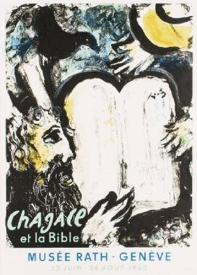 Marc Chagall, 1887-1985, Chagall et la Bible/ Moses and