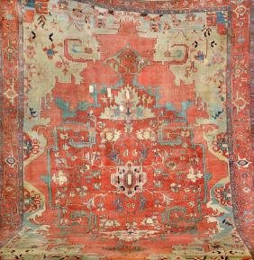 Large Heriz-Serapi Carpet,