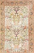 Tabriz 'Part-Silk' Rug,