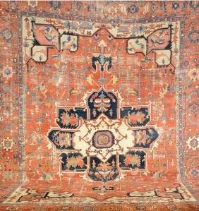 Large Heriz Carpet,
