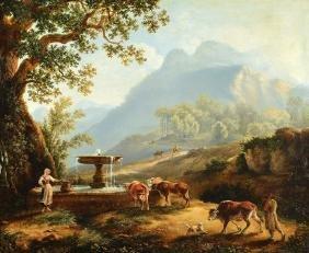 G. Pech ... or similar, Romantic around 1810, probably