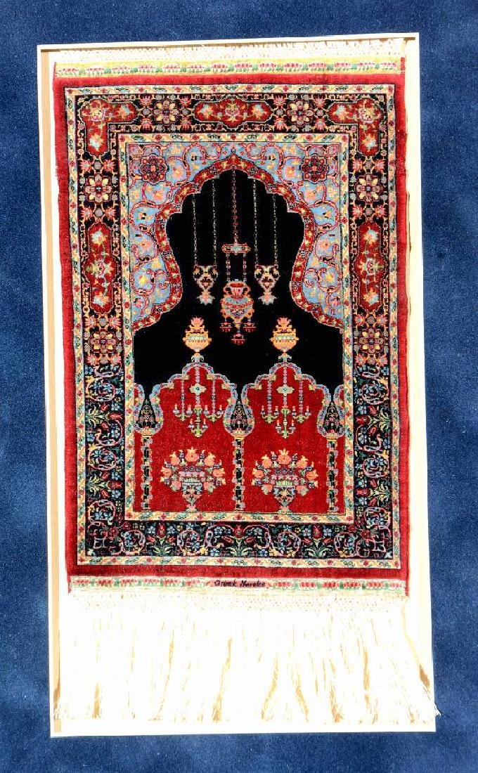 'Probably The Finest Rug In The World' Silk Hereke - 2