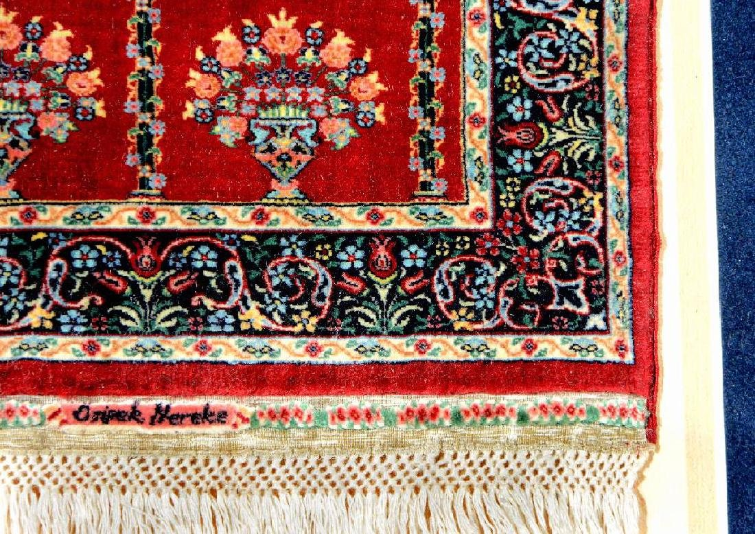 'Probably The Finest Rug In The World' Silk Hereke - 5