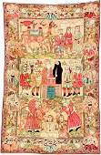 KirmanRavar Pictorial Rug Story Of Joseph Son Of