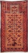 Belutsch 'Prayer Rug' (Camel-Wool Grounded),
