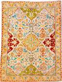 Tabriz 'PETAG' Rug 'Polonaise Safavid Design' (Signed),