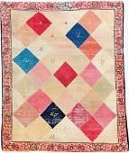 Kirman-Ravar 'Color Pattern' Rug (Signed),