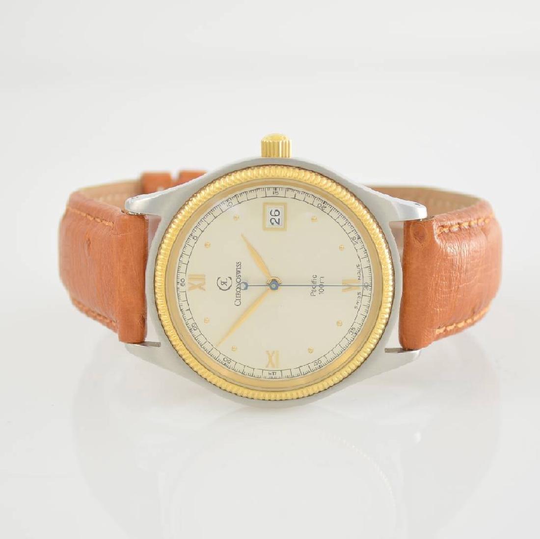 CHRONOSWISS Pacific gents wristwatch