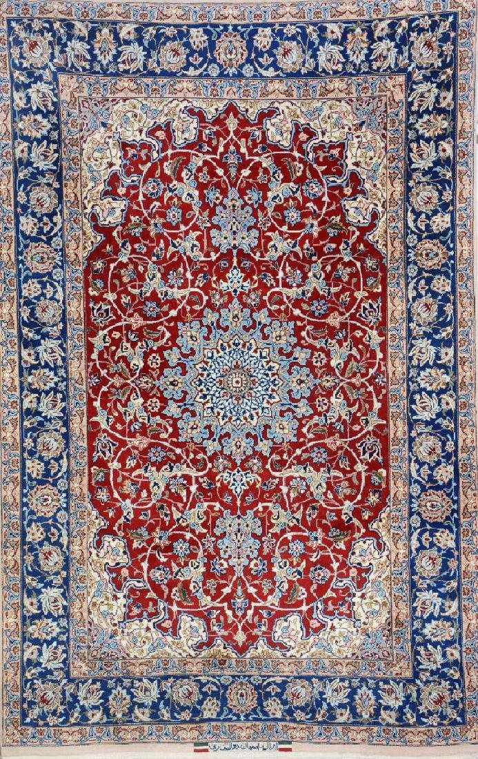 Isfahan 'Zolfaghari' Rug (Signed),