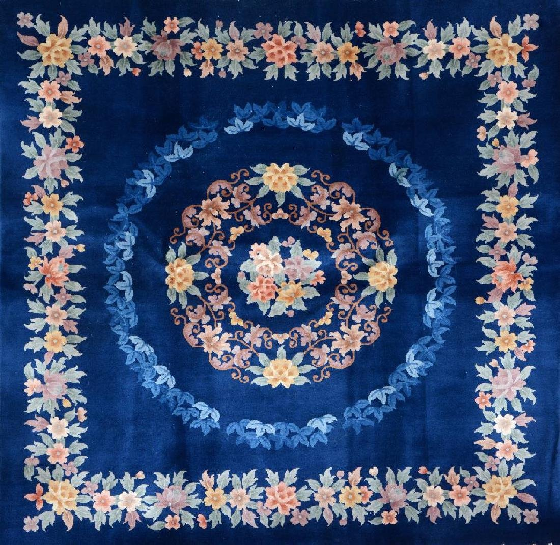 Chinese 'Square Rug',