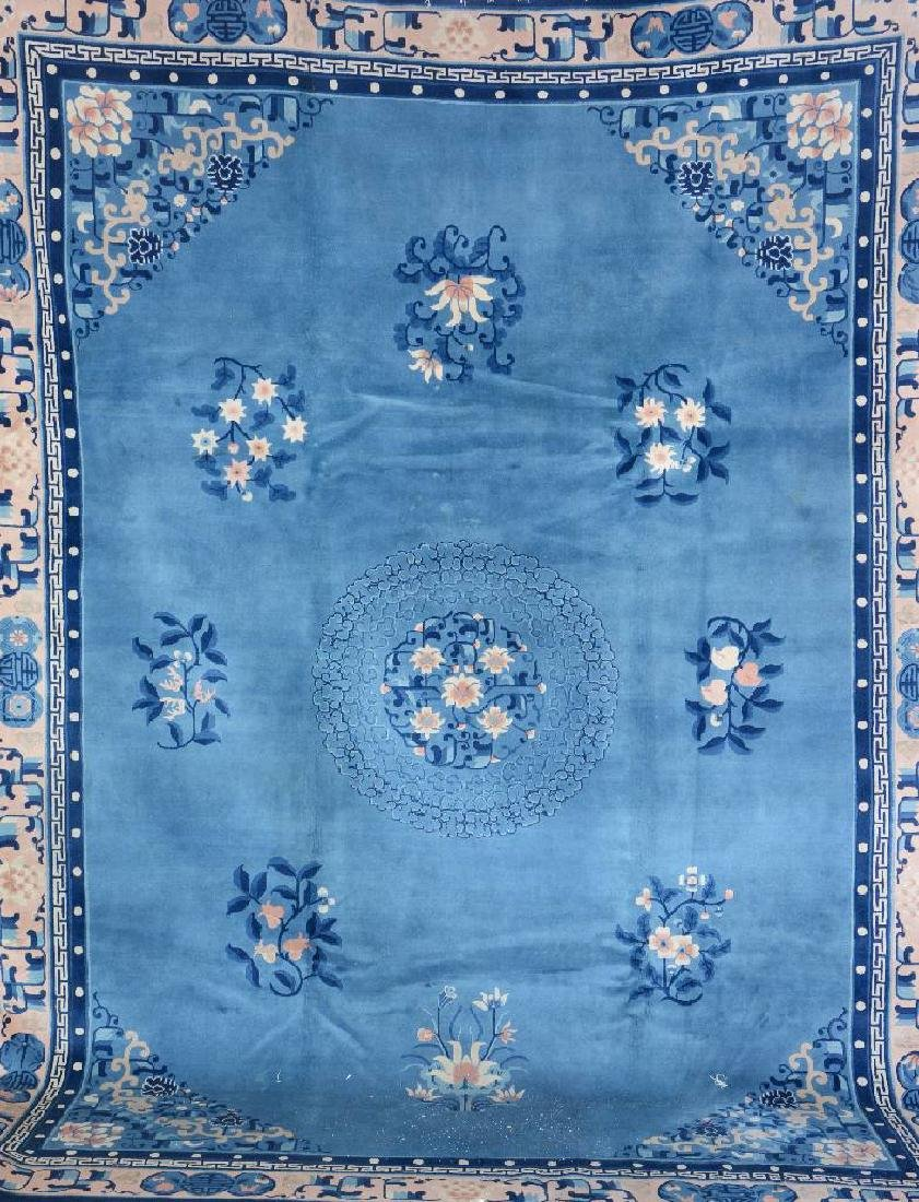 Chinese Antique-Finished Carpet,