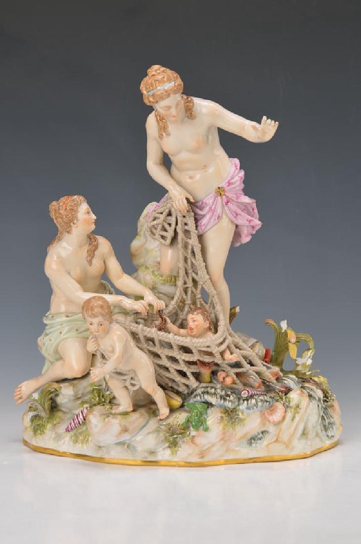 Large porcelain group