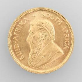 Gold Coin, Krügerrand, South Africa 1974
