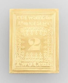 Memorial Stamp 'missionarsmarke', 2 Cents Stamp,