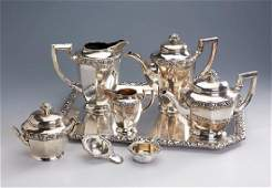7piece coffee and teaset german approx 1900