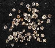 Lot loose diamonds total approx 317 ct
