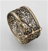 Bangle Morocco approx 1900 silver
