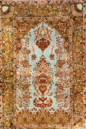 Egypt Silk Qum Rug,