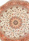 PartSilk Tabriz Round Rug