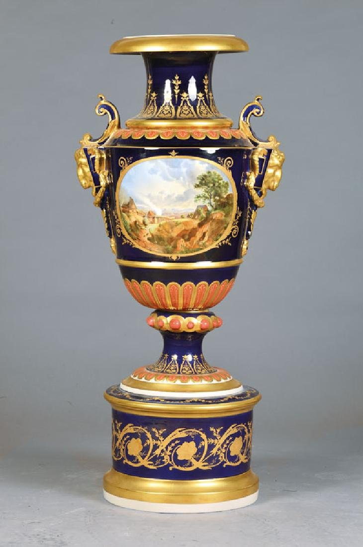 double handle vase