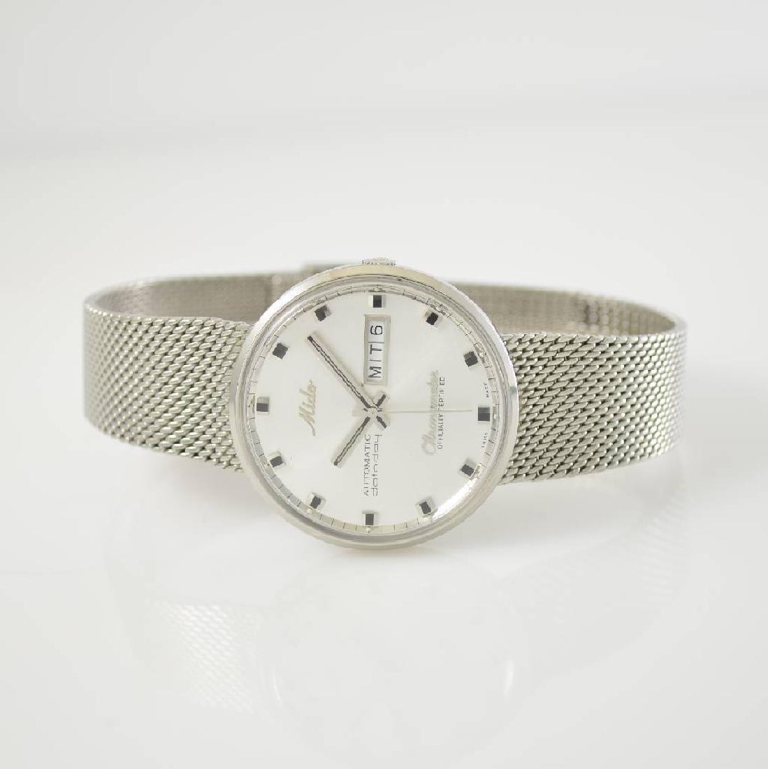 MIDO datoday chronometer gents wristwatch in steel