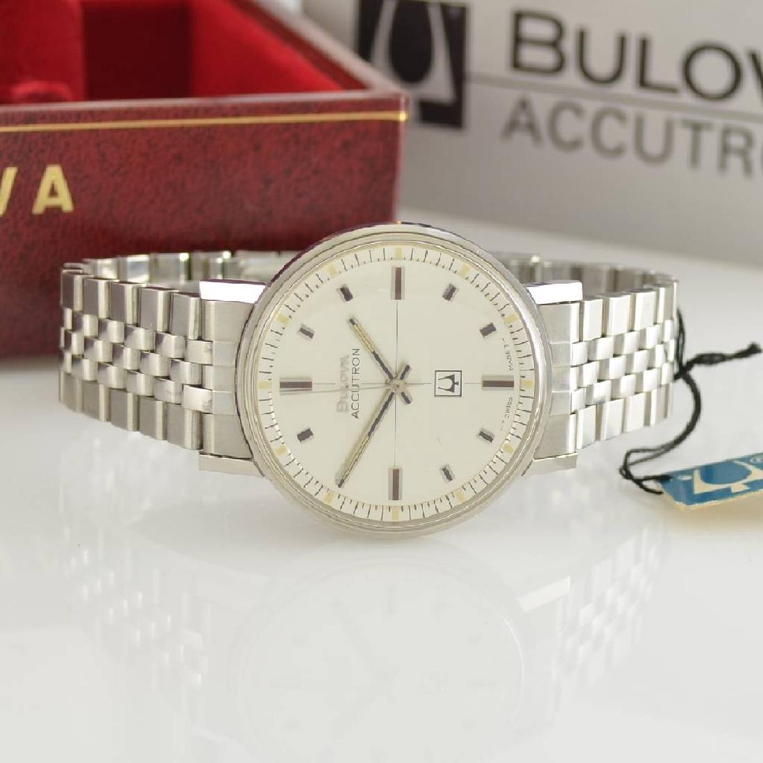 BULOVA Accutron unworn gents wristwatch in steel - 2