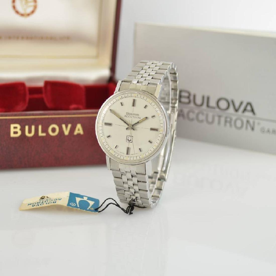 BULOVA Accutron unworn gents wristwatch in steel - 4