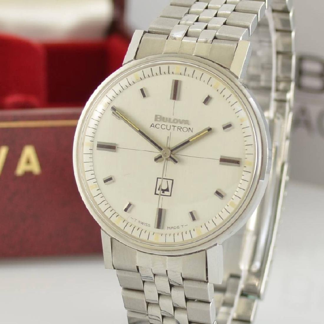 BULOVA Accutron unworn gents wristwatch in steel - 5