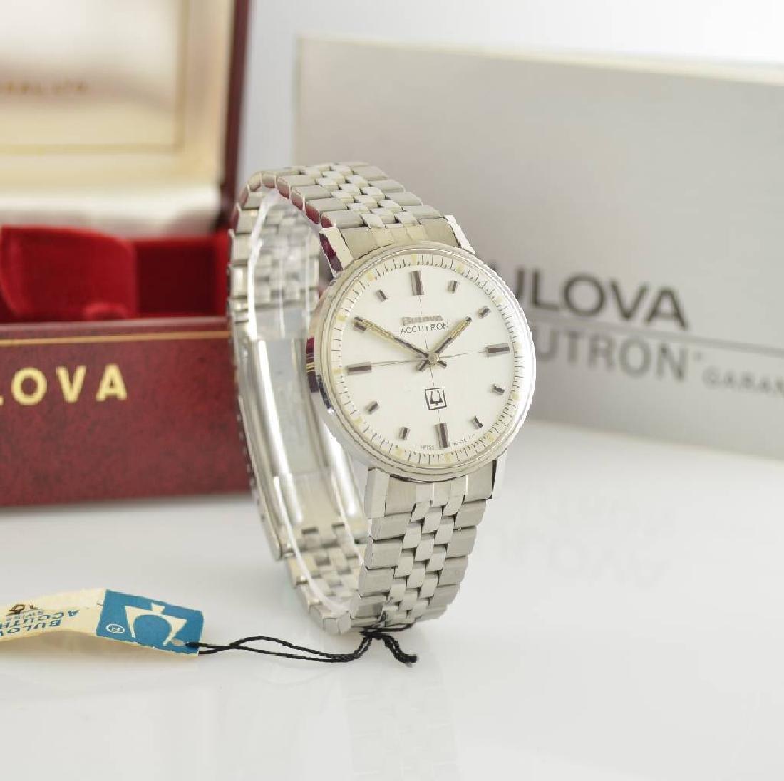 BULOVA Accutron unworn gents wristwatch in steel - 6