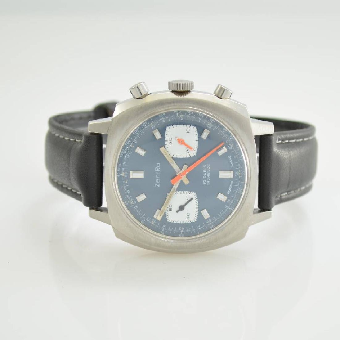 ZENTRA chronograph, Switzerland around 1970