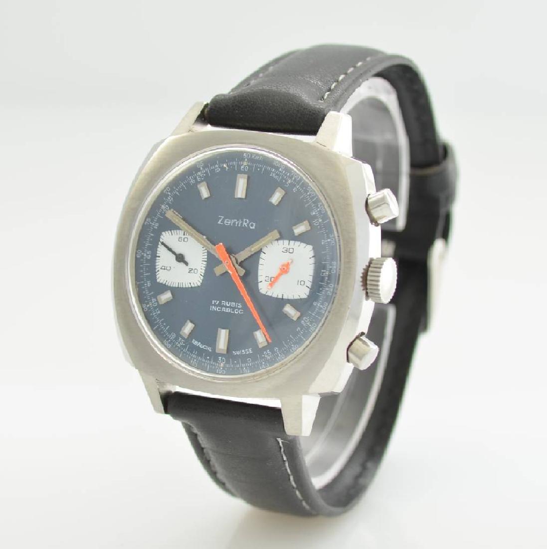 ZENTRA chronograph, Switzerland around 1970 - 3