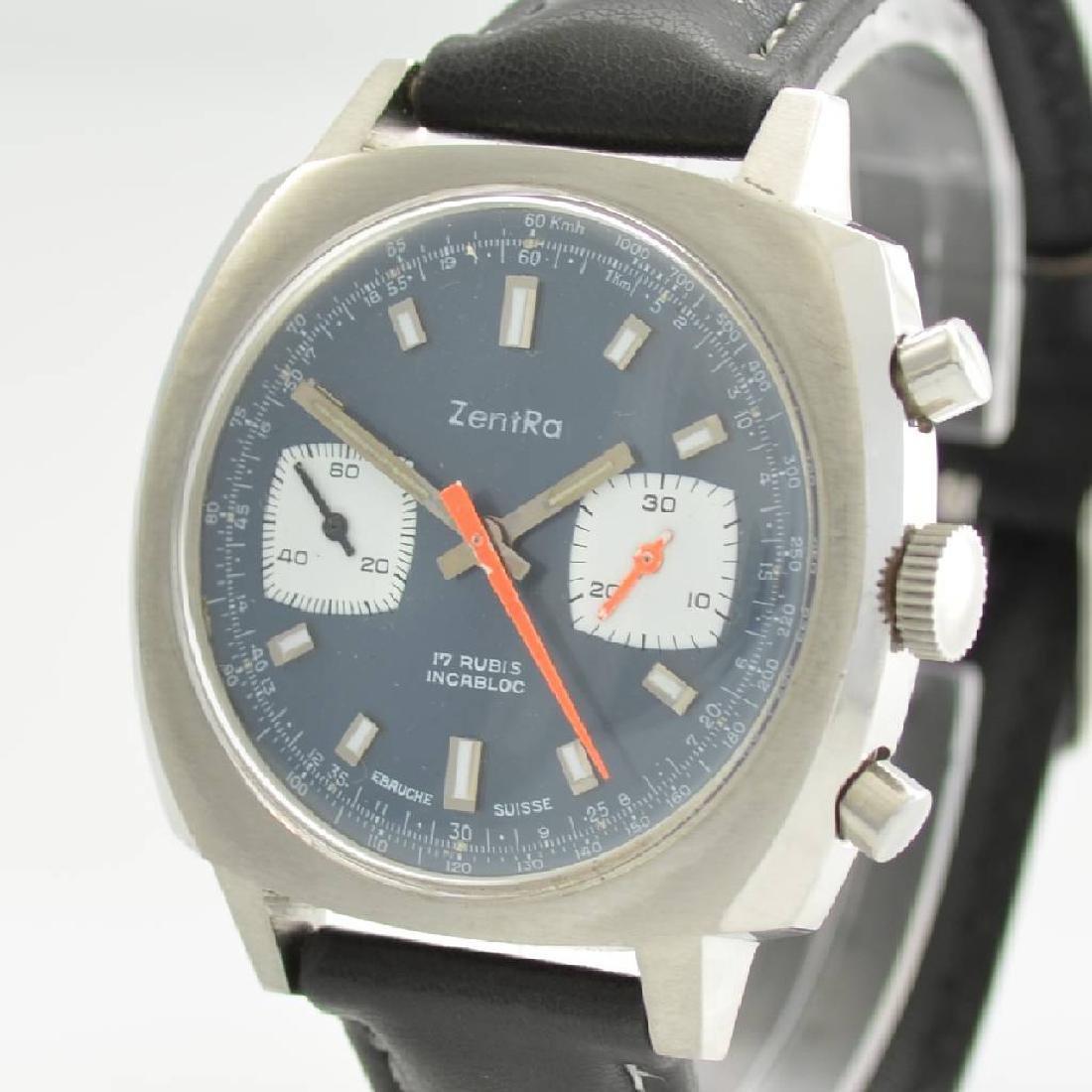 ZENTRA chronograph, Switzerland around 1970 - 4