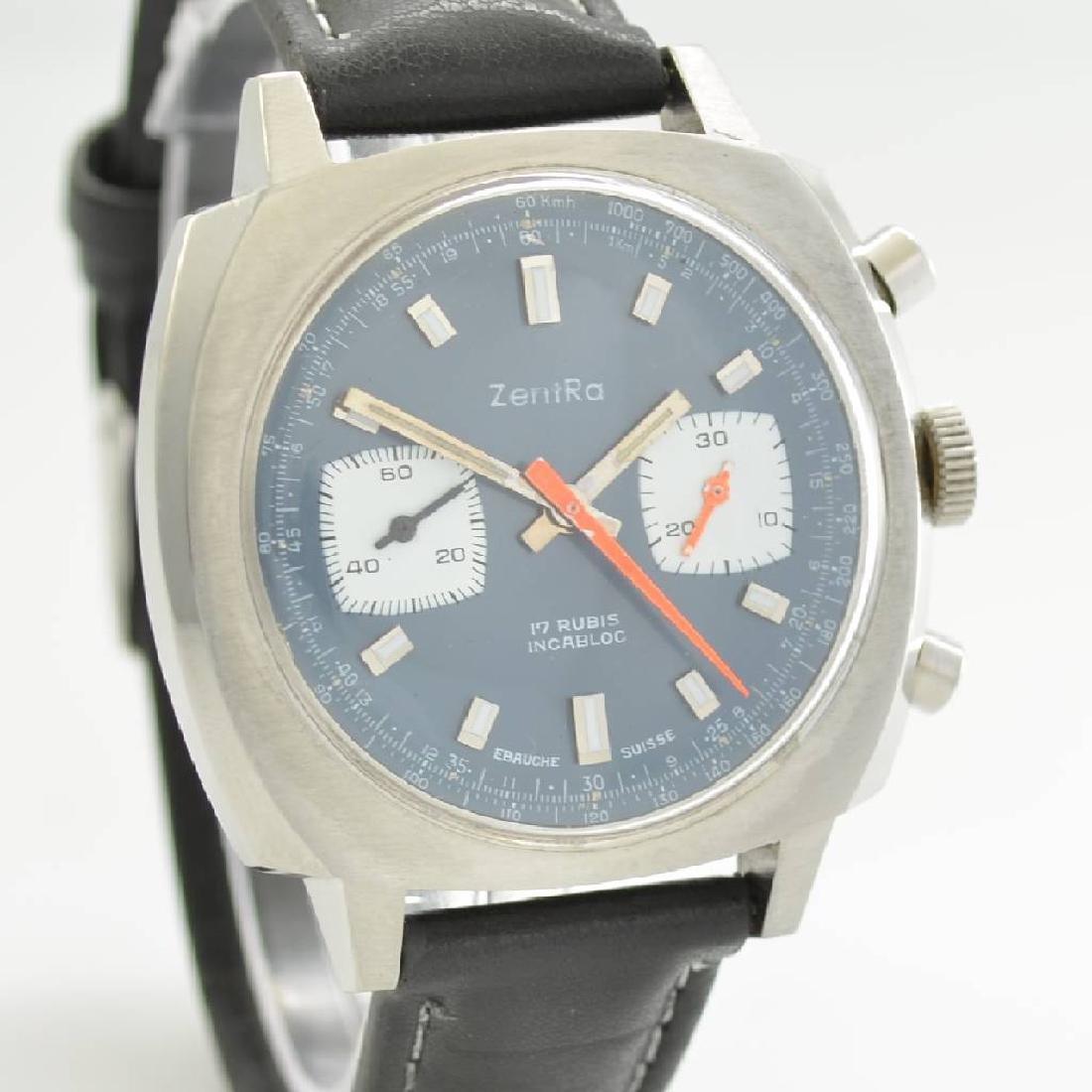 ZENTRA chronograph, Switzerland around 1970 - 6