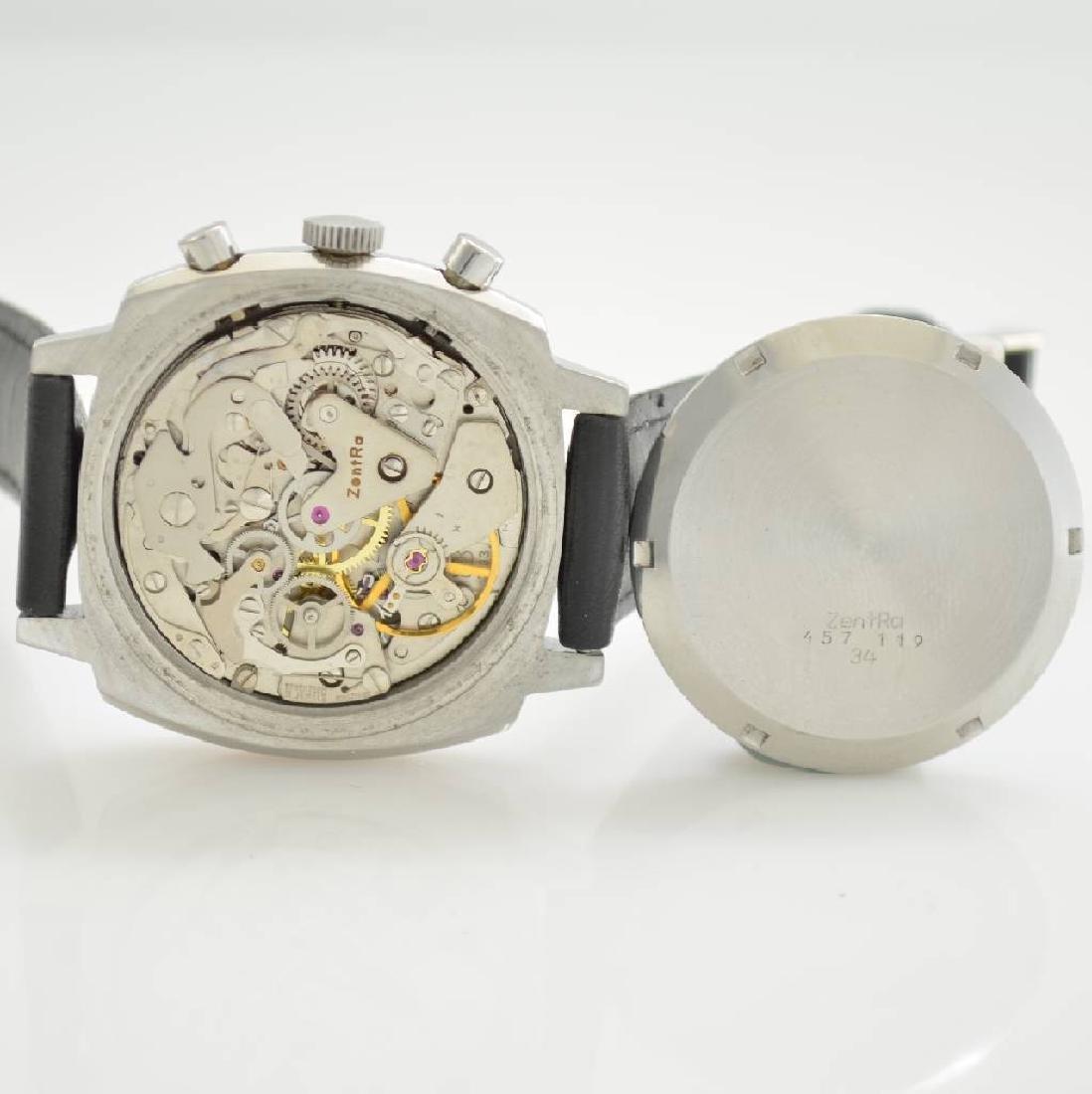 ZENTRA chronograph, Switzerland around 1970 - 7