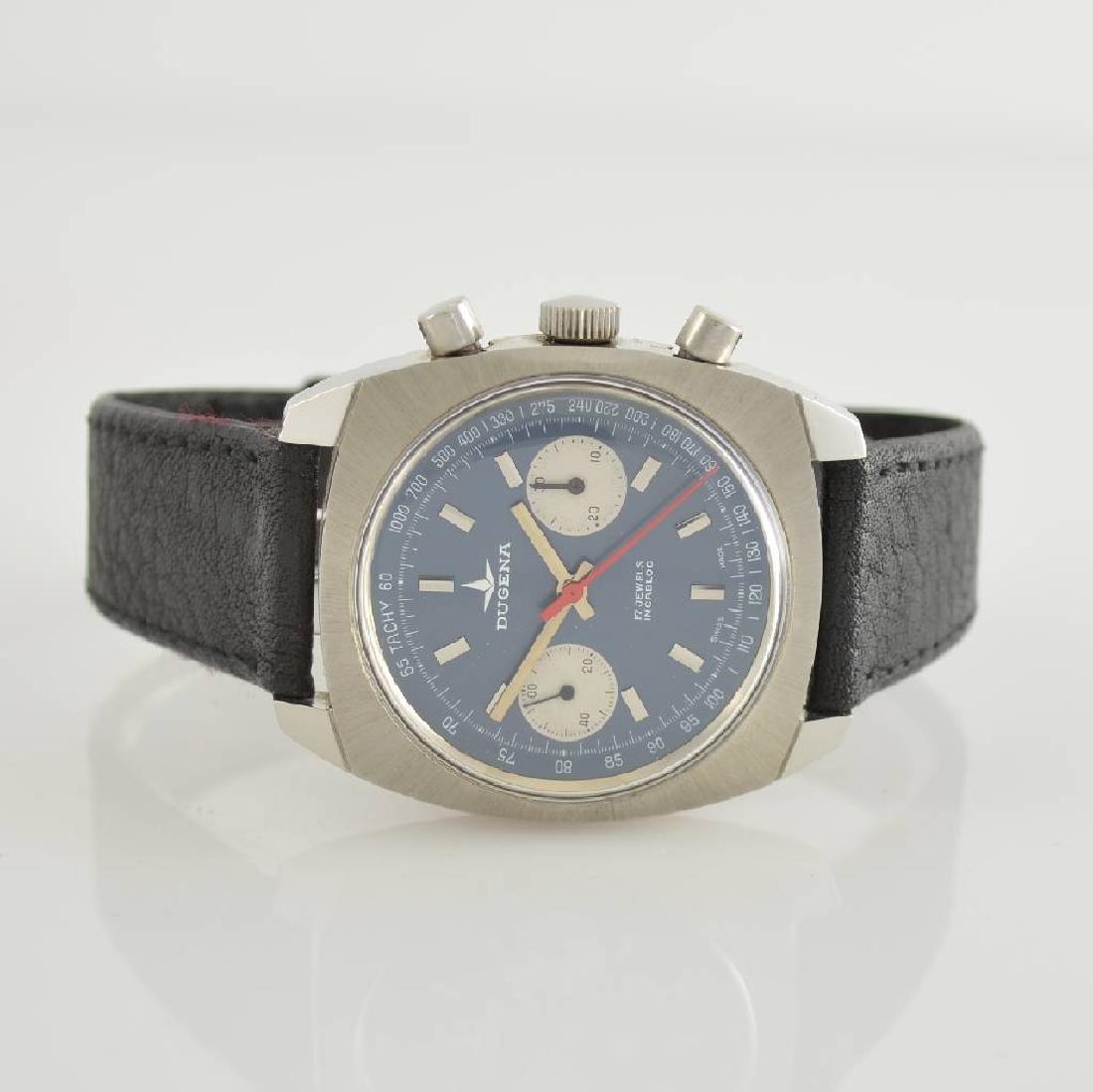 DUGENA unworn gents wristwatch with chronograph