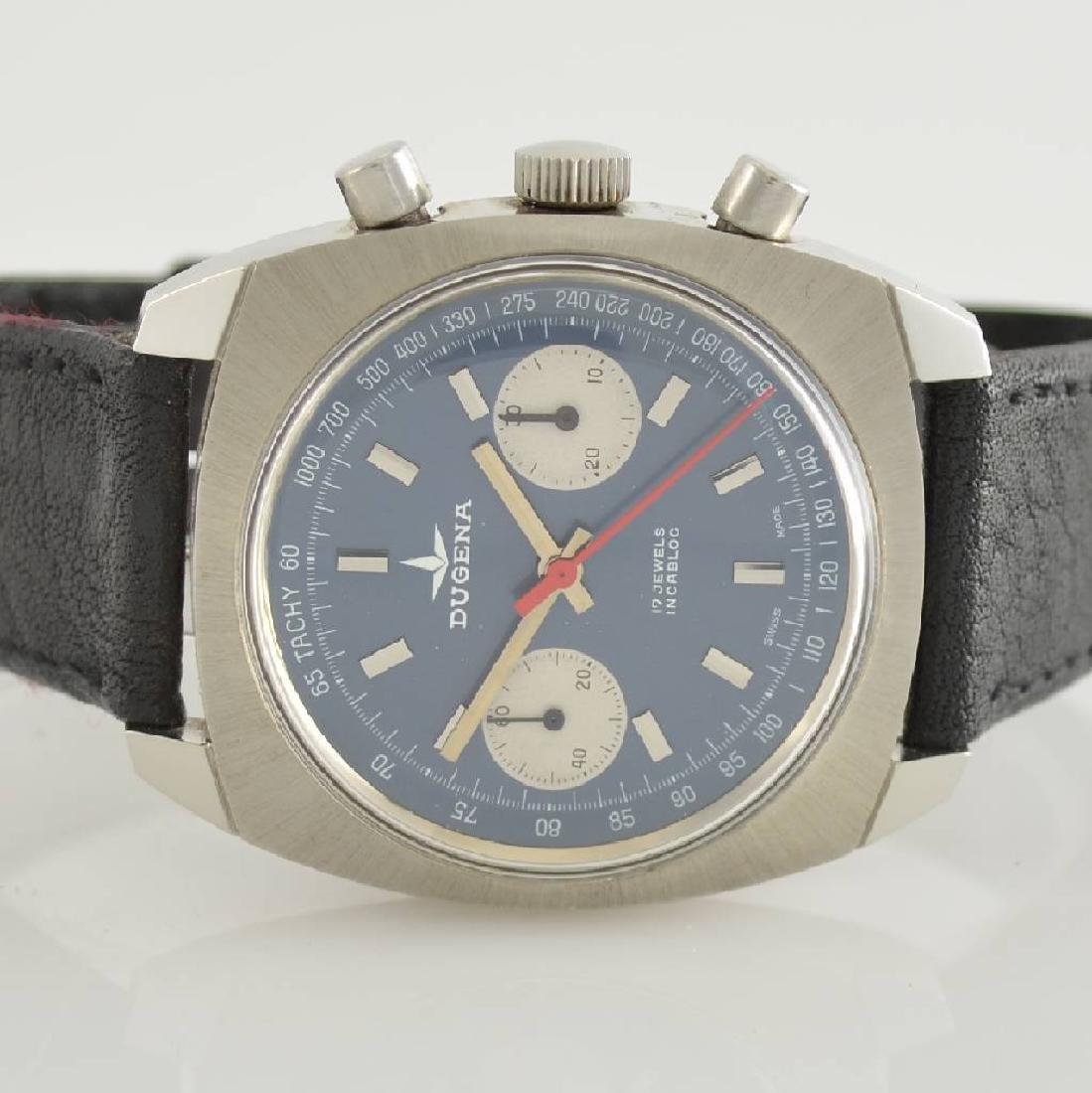 DUGENA unworn gents wristwatch with chronograph - 2
