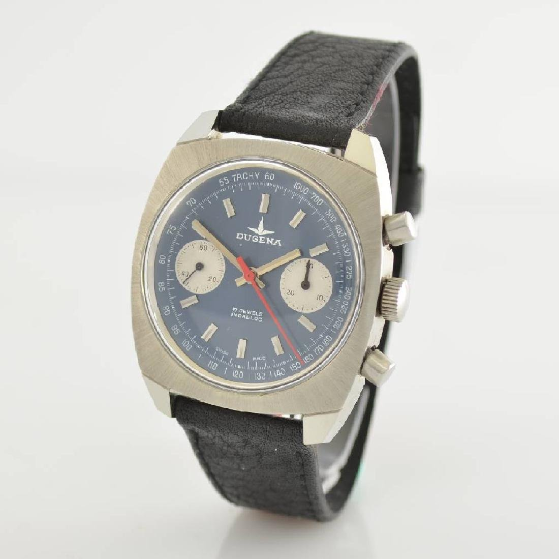 DUGENA unworn gents wristwatch with chronograph - 3