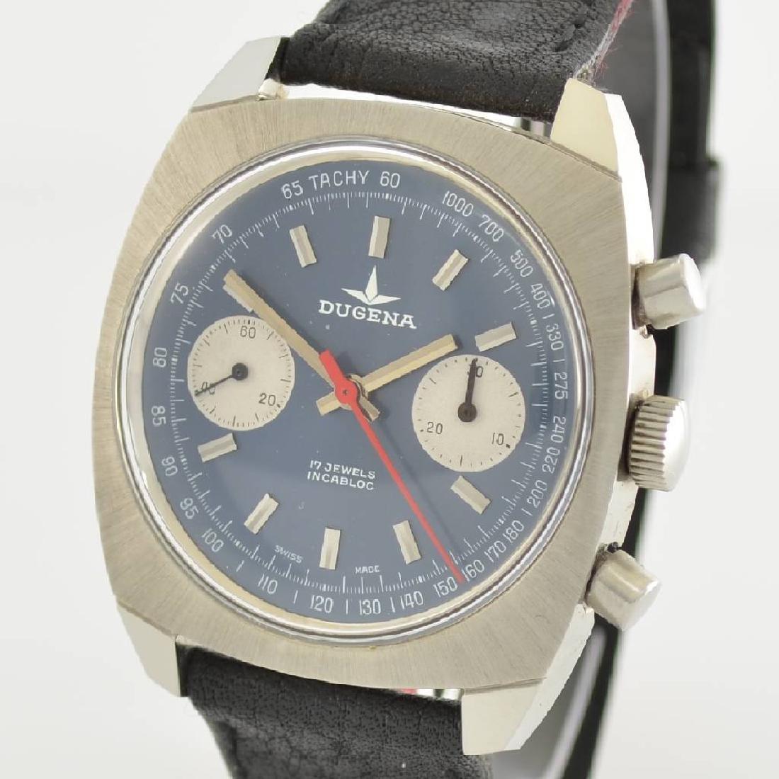 DUGENA unworn gents wristwatch with chronograph - 4
