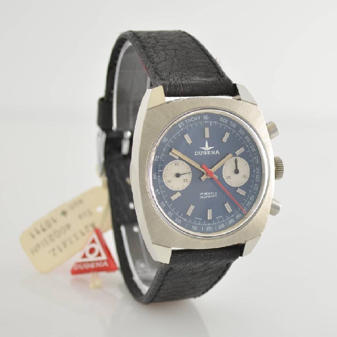 DUGENA unworn gents wristwatch with chronograph - 5