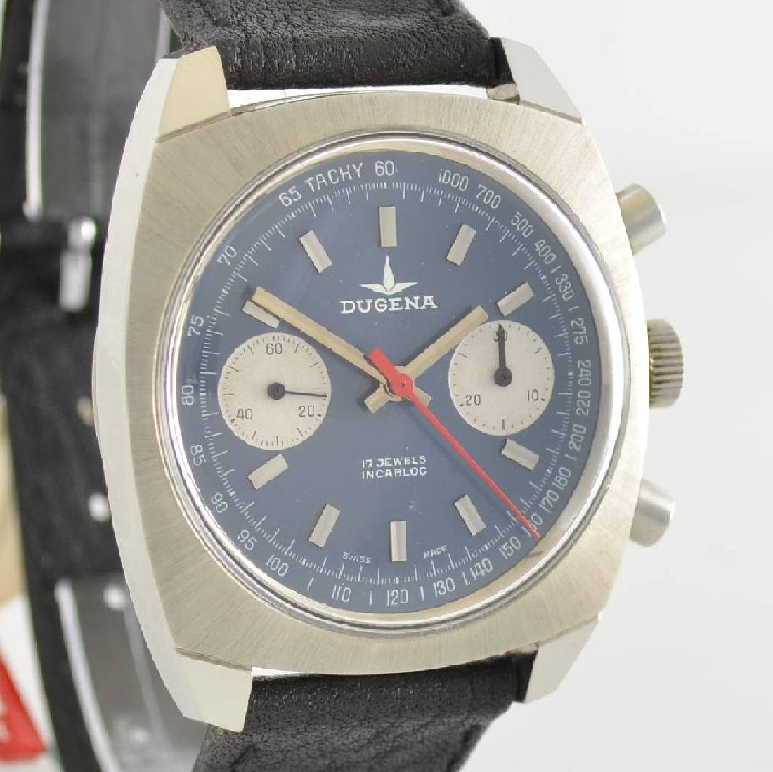 DUGENA unworn gents wristwatch with chronograph - 6