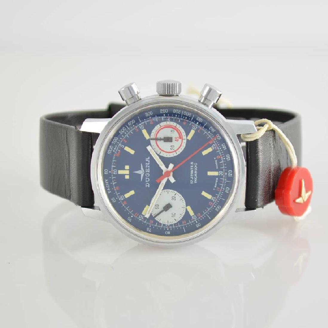 DUGENA unworn gents wristwatch with chronograph