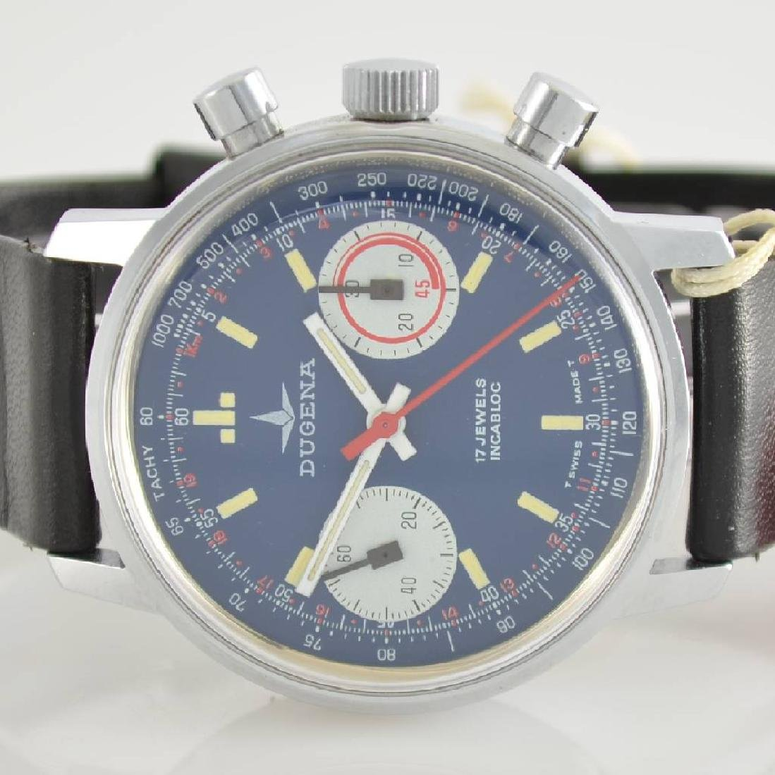 DUGENA unworn gents wristwatch with chronograph - 2