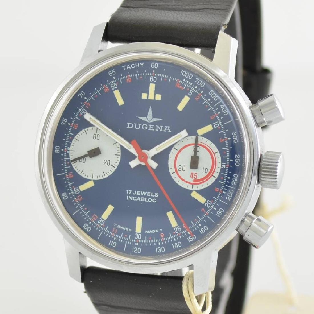DUGENA unworn gents wristwatch with chronograph - 4