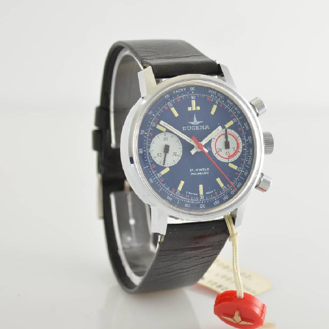 DUGENA unworn gents wristwatch with chronograph - 5